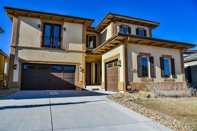 Highlands Ranch, Lone Tree Single Family Home Under Contract: 9835 Cantabria Point