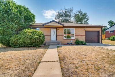 Northglenn Single Family Home Active: 10472 Carlile Street