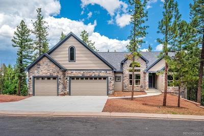 Woodland Park Single Family Home Under Contract: 1310 Spruce Ridge Lane