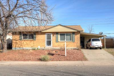Denver Single Family Home Under Contract: 14681 Randolph Place