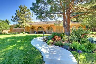 Englewood Single Family Home Active: 5801 South Happy Canyon Drive