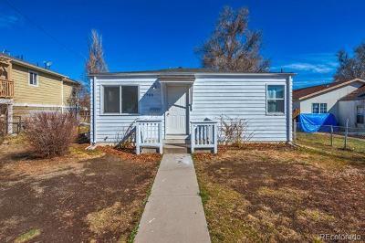 Denver Single Family Home Active: 3705 West Ohio Avenue