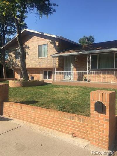 Denver Single Family Home Active: 12351 Elmendorf Place