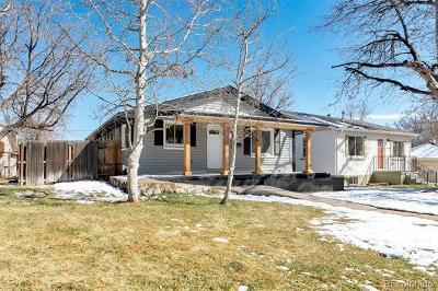 Englewood Single Family Home Active: 3230 South Corona Street