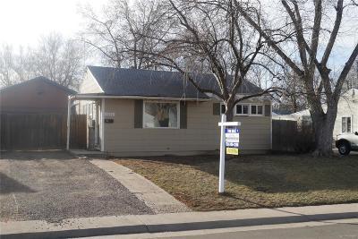 Denver Single Family Home Active: 2575 South Knox Court