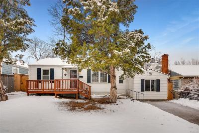 Single Family Home Active: 3079 South Ogden Street