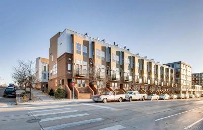Denver Condo/Townhouse Active: 2680 Blake Street #5