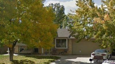 Thornton Single Family Home Under Contract: 10743 Cherry Court