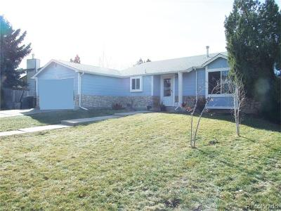 Aurora Single Family Home Under Contract: 18077 East Nassau Drive