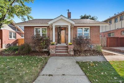 Washington Park Single Family Home Active: 1266 South Emerson Street