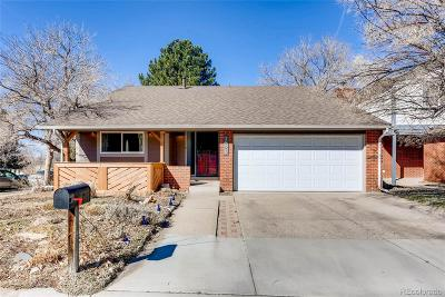 Aurora, Denver Single Family Home Active: 3956 South Atchison Way