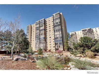 Denver Condo/Townhouse Active: 7877 East Mississippi Avenue #404
