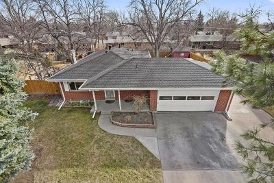 Arvada Single Family Home Active: 6124 Miller Street