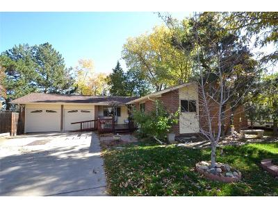 Arvada Single Family Home Active: 6482 Owens Street