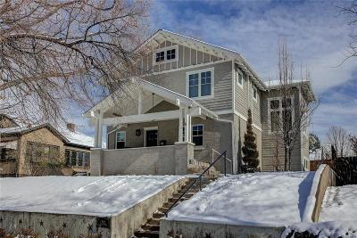 Denver County Single Family Home Active: 1380 South Marion Street