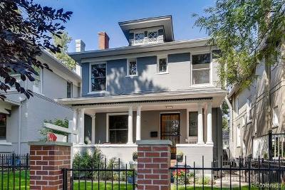 Denver Single Family Home Active: 871 North Marion Street