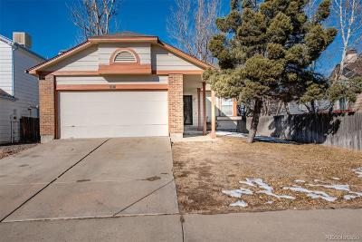 Denver Single Family Home Active: 20871 East 45th Avenue