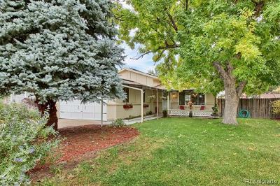 Arvada Single Family Home Active: 6622 Marshall Street