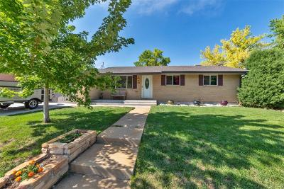 Northglenn Single Family Home Active: 1389 West 102nd Avenue