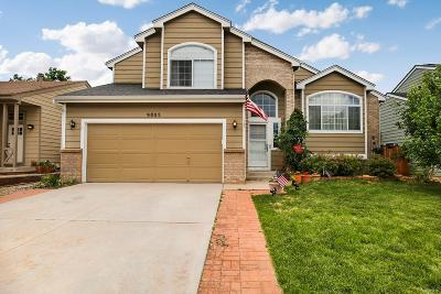 Highlands Ranch Single Family Home Under Contract: 9805 Rosewalk Drive