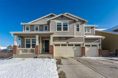 Castle Rock Single Family Home Under Contract: 2628 Night Song Way