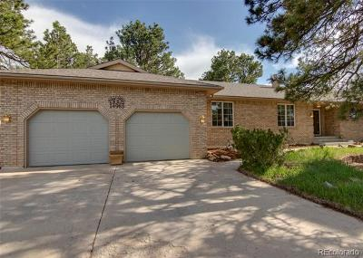 El Paso County Single Family Home Active: 14985 East Coachman Drive