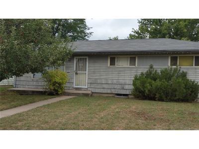 Denver Single Family Home Active: 1663 South Elm Street