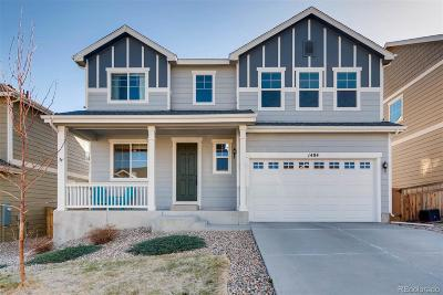 Castle Rock Single Family Home Active: 1484 Morningview Lane