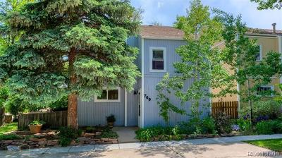 Boulder Single Family Home Active: 769 Cottage Lane