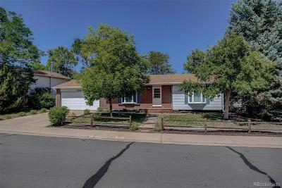Thornton Single Family Home Under Contract: 9300 Bellaire Drive