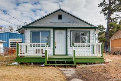 Kiowa Single Family Home Under Contract: 208 Ute Avenue