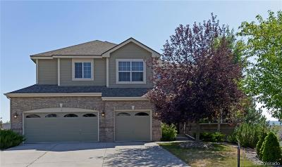 Castle Rock Single Family Home Active: 1695 Rose Petal Lane