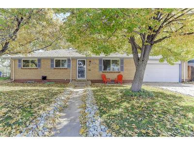 Centennial Single Family Home Under Contract: 6628 South Bridger Court