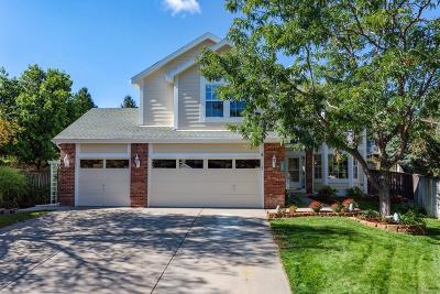 Highlands Ranch Single Family Home Sold: 9687 Salem Court