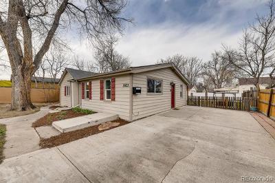 Denver Single Family Home Active: 3923 West Exposition Avenue