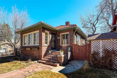 Denver Single Family Home Active: 2388 North Albion Street