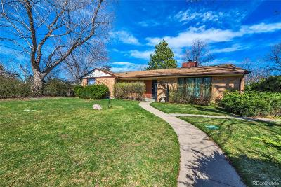 Wheat Ridge Single Family Home Under Contract: 3500 Moore Court
