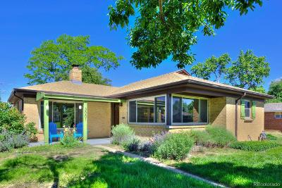 Denver Single Family Home Under Contract: 3001 Ivy Street