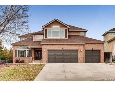 Littleton Single Family Home Active: 6455 South Routt Street