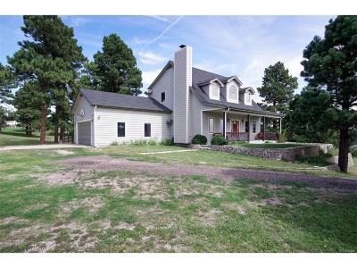 Kiowa Single Family Home Under Contract: 11635 County Road 110