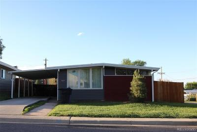 Denver Single Family Home Active: 5005 West Alaska Place