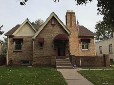Washington Park Single Family Home Under Contract: 616 South Gaylord Street
