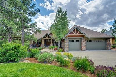 Castle Rock Single Family Home Under Contract: 2498 Oak Vista Court