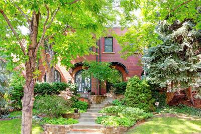 Denver Condo/Townhouse Active: 521 Garfield Street
