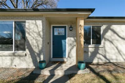 Denver Single Family Home Active: 5545 East Thrill Place