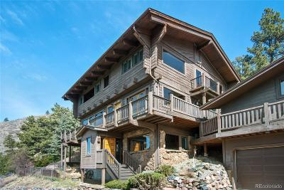 Evergreen Single Family Home Under Contract: 3890 South Skyline Drive