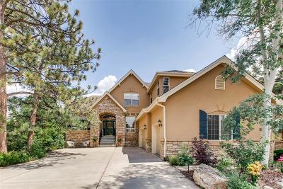 Castle Pines Single Family Home Under Contract: 7180 Timbercrest Lane