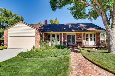 Centennial Single Family Home Under Contract: 7786 South Elizabeth Court