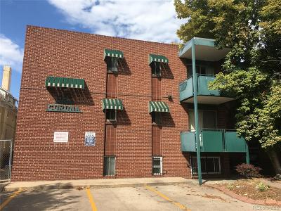 Denver Condo/Townhouse Active: 985 North Corona Street #103