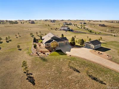 Elbert County Single Family Home Under Contract: 2409 Elkhorn Ranch Street